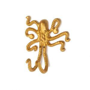 Wandhaak KidsDepot Okki Octopus Gold