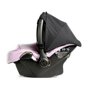 Autostoel Junama Diamond Fluo Line 06 Pink/Silver Inclusief Adapterset