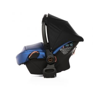Autostoel Junama Diamond Fluo Line 01 Blue/Gold Inclusief Adapterset