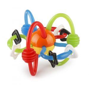 Rammelaar Infantino Rattle&Teether Bendy Tubes Coloured