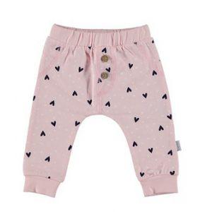 Broek Bess Pants Hearts Pink