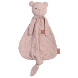 Knuffeldoek BamBam Bear 51551 Organic Pink