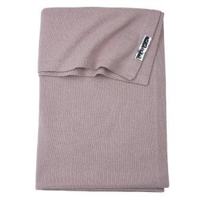 Deken Ledikant Meyco Knit Basic 2753008 Lilac