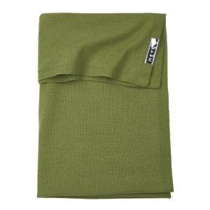 Deken Ledikant Meyco Knit Basic 2753009 Avocado