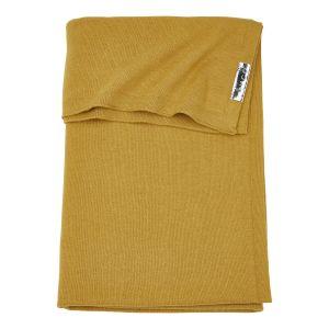 Deken Ledikant Meyco Knit Basic 2753010 Honey Gold