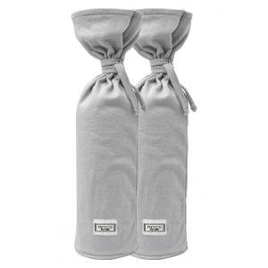 Kruikenzak Meyco Basic Jersey Lichtgrijs 2-pack