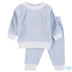 Pyjama Feetje Wafel Blue