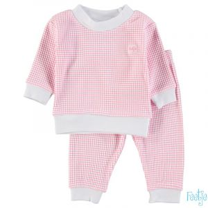Pyjama Feetje Wafel Pink