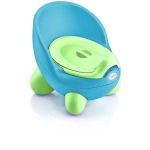 Babypotje TonTon Aqua/Lime Babyjem
