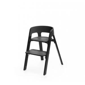 Kinderstoel Stokke® Steps 349705 Black/Oak Black