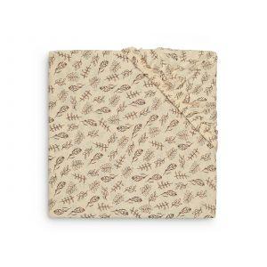 Hoeslaken Ledikant Jollein 60x120 Jersey Meadow Chestnut