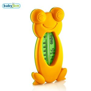 Badthermometer Babyjem Frog Oranje
