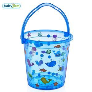 Bademmer Babyjem Transparant Fish Blauw