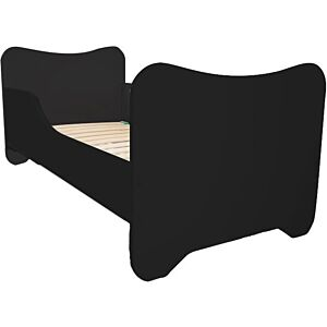 Peuterbed Top Beds Happy 70x140 Black Incl. Matras