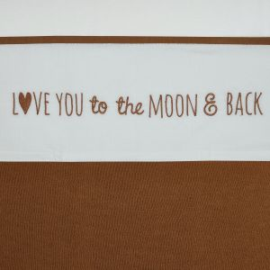 Laken Wieg Meyco Love You To The Moon & Back 413042 Camel