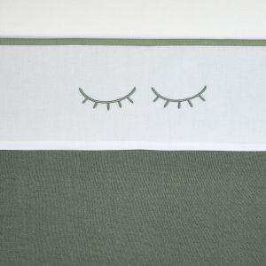 Laken Wieg Meyco Sleepy Eyes 413065 Forest Green