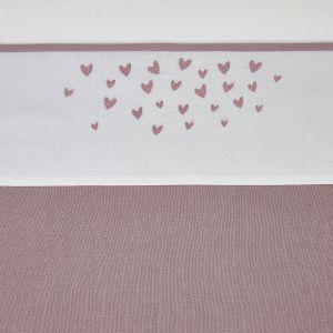 Laken Ledikant Meyco Hearts 414069 Lilac