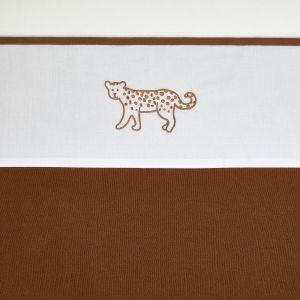 Laken Wieg Meyco Cheetah Animal 413073 Camel