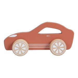 Houten Sportauto Little Dutch Roest