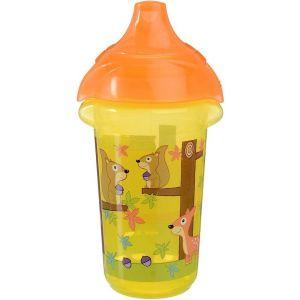 Anti-lek Beker Munchkin CL Deco Sippy Cup Geel/Oranje