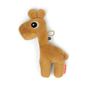 Speendoekje Done By Deer Tiny Sensory Raffi Mustard
