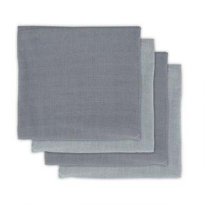 Multidoek Jollein Hydrofiel 4st Bamboe Storm Grey