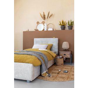 Bed Coming Kids Lima 90x200   Kleur Riblin Grey