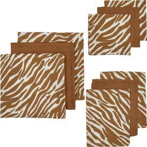 Starterset Hydrofiel 9-dlg Meyco Zebra Uni 450326 Camel
