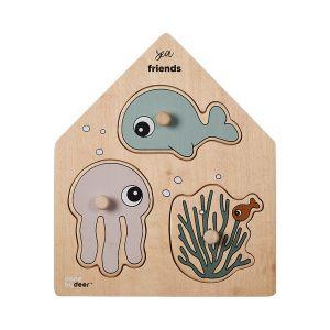 Puzzel Done by Deer | Peg Sea Friends 4804423