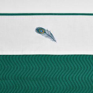 Laken Meyco Wieg 75x100 Peacock Emerald