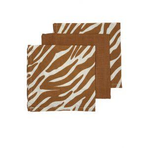Monddoekjes Hydrofiel Meyco Zebra Camel 3st