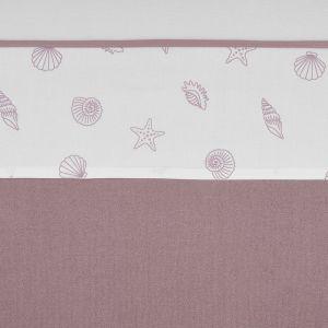 Laken Ledikant Meyco Shells Lilac