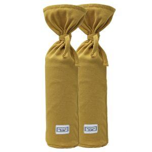 Kruikenzak Meyco Basic Jersey Honey Gold (2st)