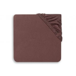 Hoeslaken Ledikant Jollein 60x120 Jersey Chestnut