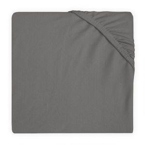 Hoeslaken Boxmatras Jollein 75x95 Jersey Storm Grey 511-847-00094