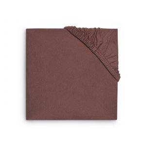 Hoeslaken Boxmatras Jollein 75x95 Jersey Chestnut