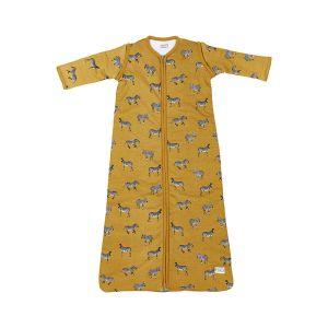 Slaapzak Winter Meyco Zebra Animal 514041 Honey Gold 90cm