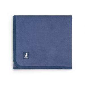 Deken Ledikant Jollein Katoen 100x150 Jeans Blue