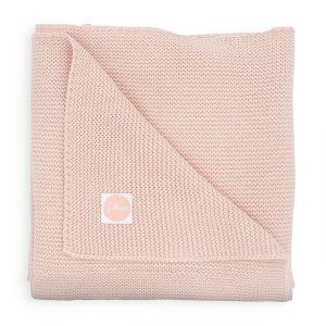 Deken Wieg Jollein 75x100 Basic Knit Pale Pink