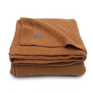 Deken Ledikant Jollein 100x150 Bliss Knit Caramel