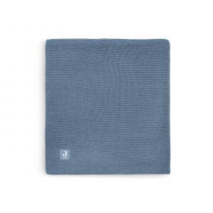Deken Wieg Jollein 75x100 Basic Knit Jeans Blue