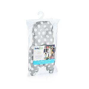 BabyJem Angel Protect Pillow Grey Dots