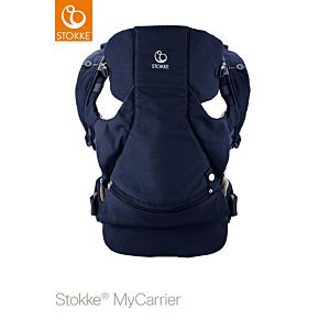 Stokke® Buik- en Rugdrager My Carrier Deep Blue