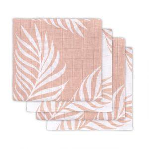 Multidoek Jollein Hydrofiel 4st Nature Pale Pink