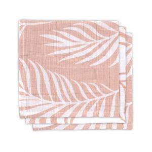 Monddoekjes Jollein Hydrofiel 3st Nature Pale Pink