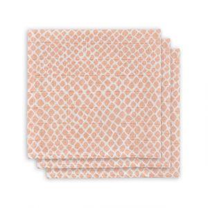 Monddoekjes Jollein Hydrofiel 3st Snake Pale Pink