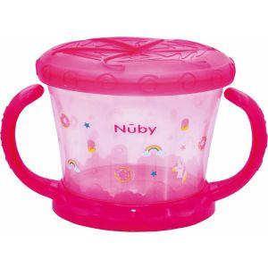 Snack Cup Nuby Roze