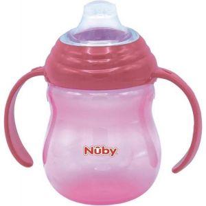 Tuitbeker Nuby met Handvatten Roze