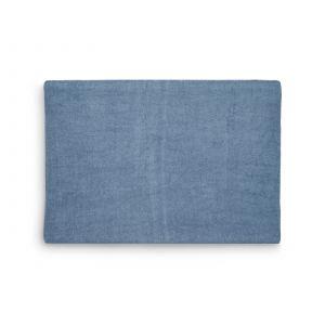 Waskussenhoes Jollein Badstof Jeans Blue