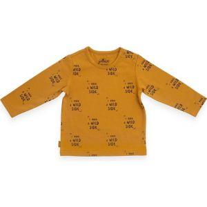 Shirt Jollein Lange Mouw Wild Animal Mustard